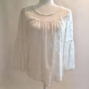 Lucky Brand White Top Size M